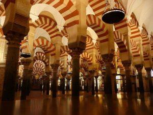 Interior de la mezquita de Crdoba